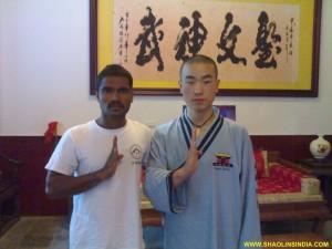 Shaolin Wushu Monks