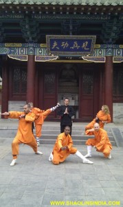Shaolin Wuhsu Warrior Monk