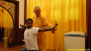 Shaolin Wushu Training in China