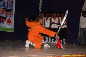 Indian Kung-fu Warrior Monk