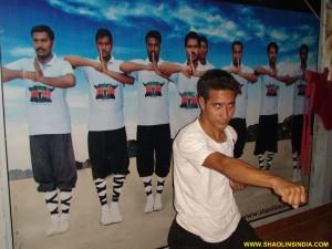 Nepal Kung-fu Student Prem