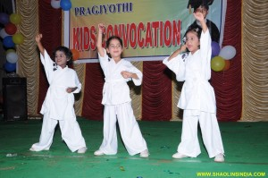 Shaolin Little Kung-fu Students