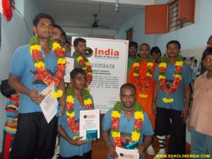 Indian Martial arts Master Prabhakar Reddy and 6 Students