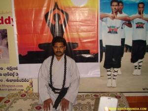 Master Prabhakar Reddy in Vajrasana