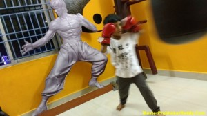 Shaolin Kung-fu Training Kids