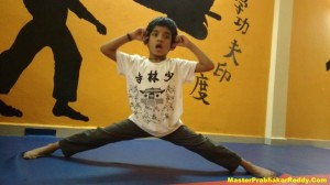 Indian Kung-fu Warrior Training Camp