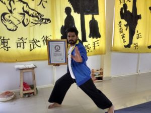Shaolkin Kung-fu Martial arts World Records