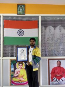 Tamilnadu Kung-fu Master Prabhakar Reddy World Records