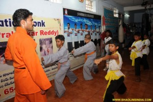 Shaolin Wushu Monk Training Stunts Master Prabhakar Reddy
