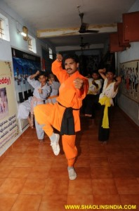 Kung-fu Warrior Training in India