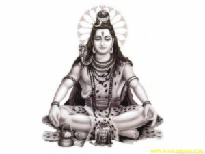 Shiva The Lord Indian Piower full God.