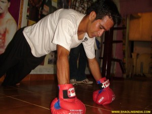 Shaolin Kung-fu Training