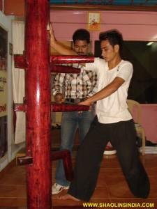 Shaolin Wooden Dummy