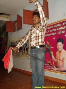 Shaolin Dao Trainer Shifu Prabhakar Reddy