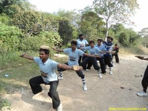 kungfu practice,Balanse