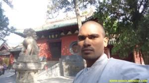 Shaolin Temple Warrior Monk
