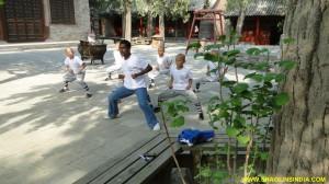 Shaolin Kungfu master Shifu Prabhakar Reddy