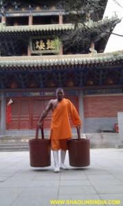 Shaolin Warrior Monk,Shaolin Temple India.