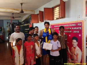 Nellore Martial arts Training Team
