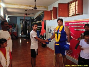 Andhra Boxer Students India