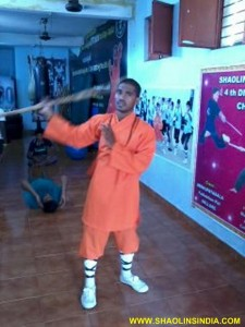 Shaolin Kung fu Weapons
