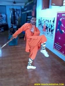 Shaolin Kung fu Warrior