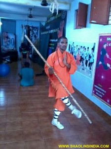 Shaolin Warrior Shifu Prabhakar Reddy Teach Kung fu Weapons