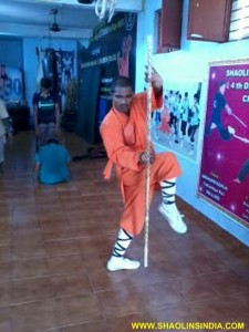 Shaolin Kung fu Indian Master