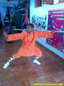 Shifu Prabhakar Reddy Indian Kung fu