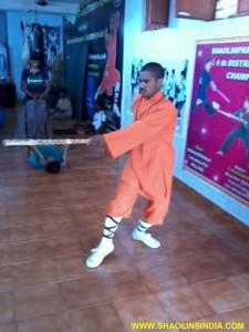 Shifu Prabhakar Reddy Kung fu