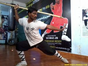 Shaolin Kungfu Master India