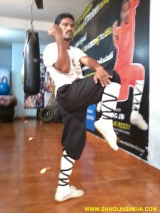 Kungfu Training Indian