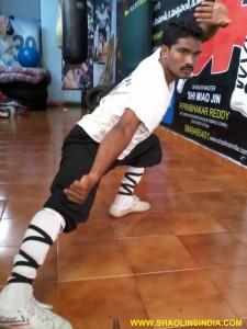 Shaolin Master Prabhakar Reddy