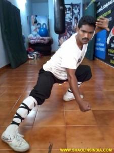 Shaolin Kungfu Master Prabhakar Reddy
