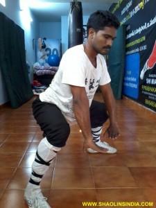 Hard Practice Kungfu