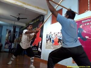 Shaolin Kungfu Mastrer Prabhakar