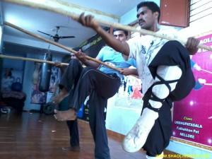 Shaolin Kungfu Training IOndia