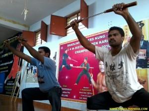 Shaolin Master Teachining