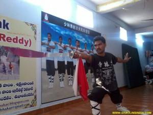 Shaolin Monk Kungfu Prabhakar