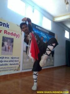 Shaolin Kungfu Master Prabhakar Reddy India