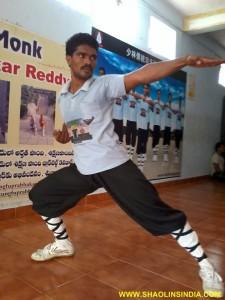 Shaolin Kungfu Master Prabhakar