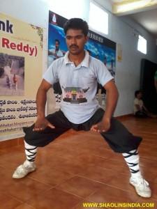 Shaolin Kungfu Training Andhra