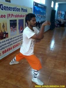 Shaolin Kung fu Monk Prabhakar Reddy