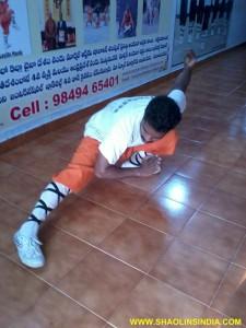 Shaolin Kung fu Master Shifu Prabhakar