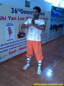 Shaolin Warrior Discviplen Master India