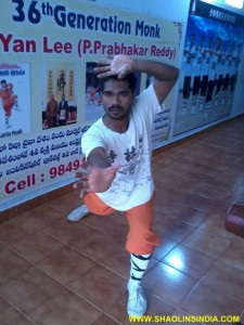 Shifu Prabhakar Reddy Teach Shaolin Animal Style
