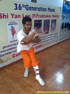 Shaolin Kung fu Master Prabhakar