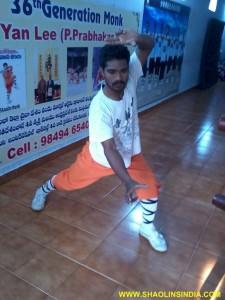 Shaolin Kung fu Monk