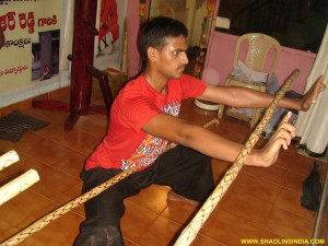 Shaolin Monk Wushu Training