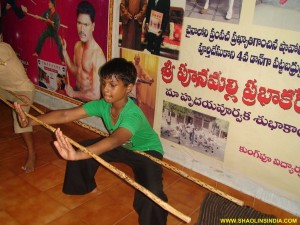 Shaolin Kung-fu Children Training